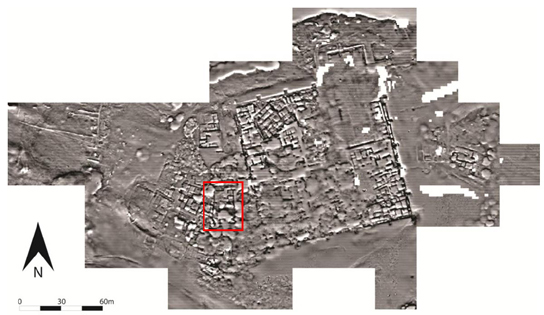 Magnetometry survey of Amara West town