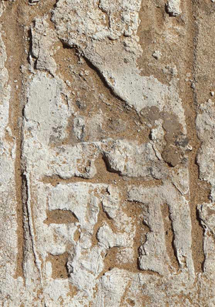 Detail of inscribed jamb, re-used as a threshold stone, bearing the name Horhotep