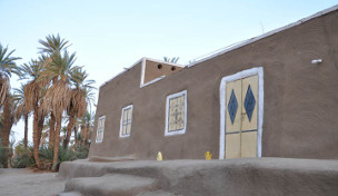 A house in Ernetta with liasa mud plastering