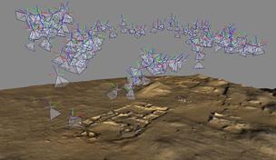 Digital elevation model of villa D12.5