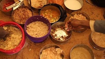 Nubian breakfast at Amara West