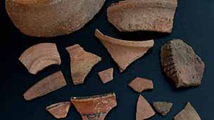 Pottery from 2-S-37