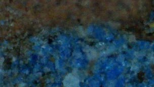 Egyptian blue crystals