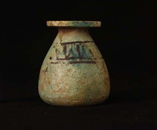 Faience vessel from Grave 244