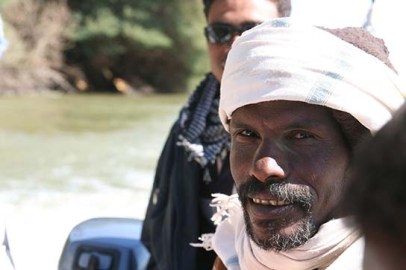 Abd el-Razeq, veteran excavator at Amara West.