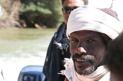Abd el-Razeq, veteran excavator at Amara West.