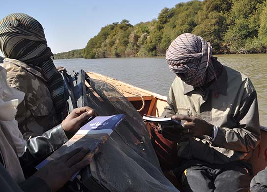 Reading the book en route from Amara West to Ernetta